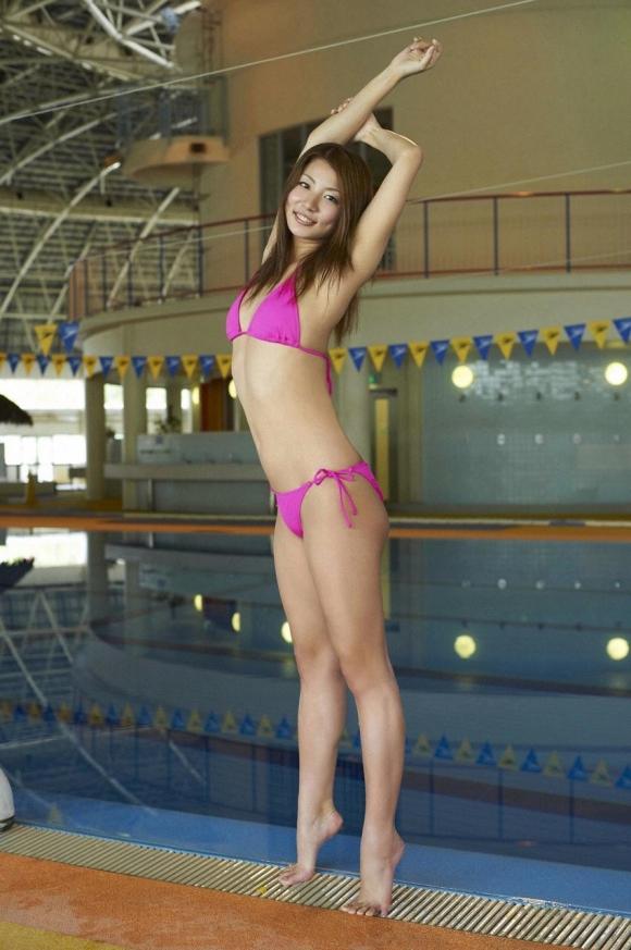 元シンクロ日本代表青木愛ちゃんの健康的なボディがたまらなくきれいですよ♪17_20151014035825662.jpg