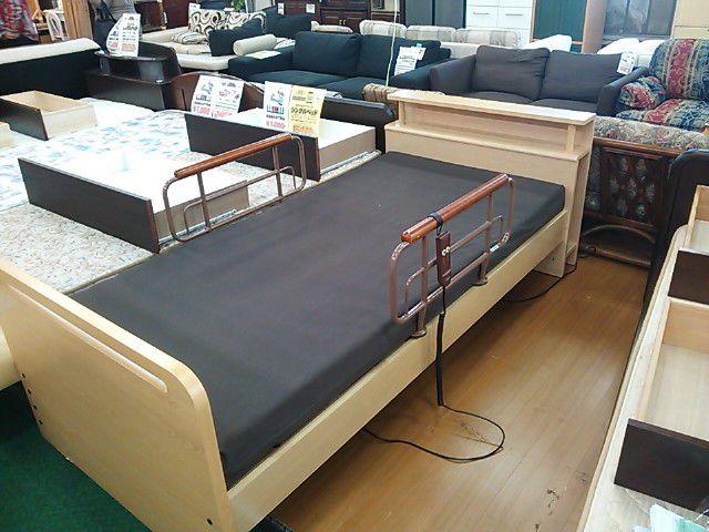 リクライニング電動ベッド1