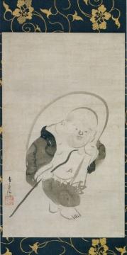 布袋図、畠山