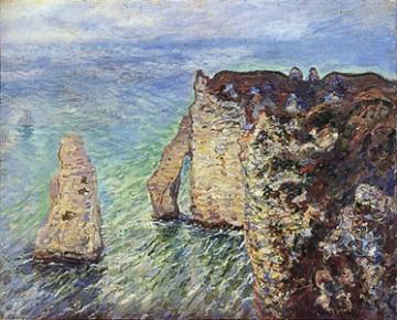 モネ、アヴァルの門