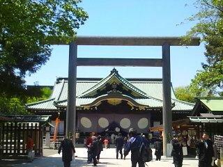 鴻池薫の靖国神社奉納演奏(春期例大祭)
