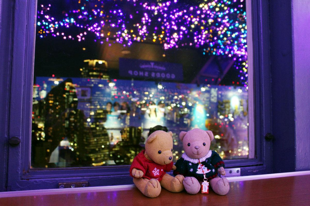 東京タワー展望台で