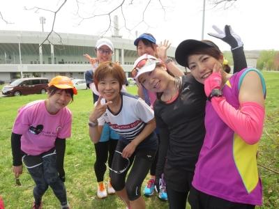 真駒内公園練習会、女子!