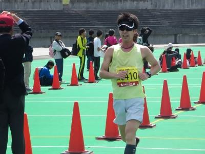 豊平川マラソン、北上さん