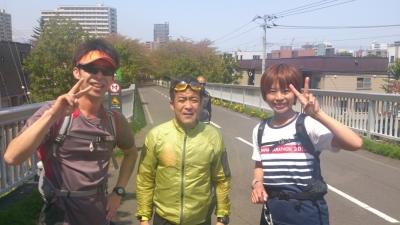 白石サイクリングロード、30kmスタート前