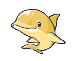 金のイルカ
