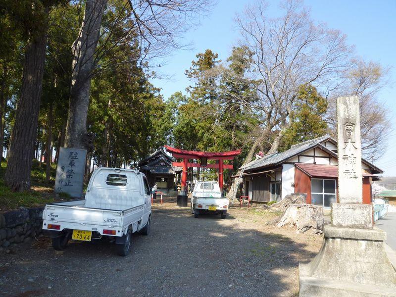 曾木神社 手入れ風景