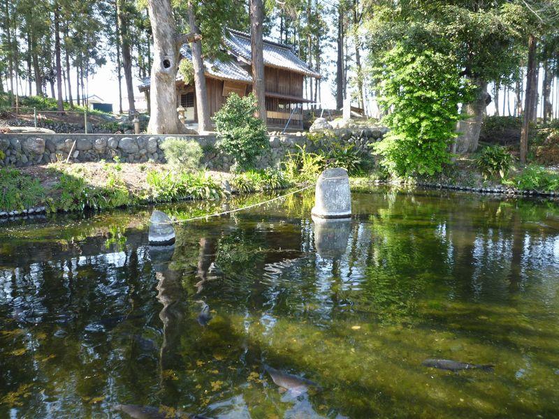 曾木神社湧水