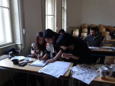 201502 Slovakia Suibokuga Workshop01