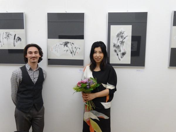201502 Slovakia Suibokuga Exhibition 01