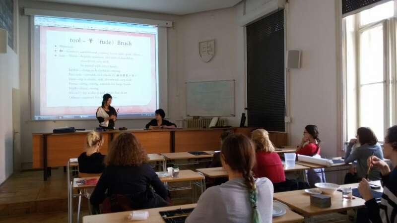 201502 Slovakia Suibokuga Workshop06