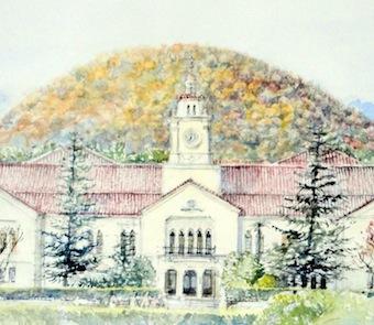 関西学院時計台1