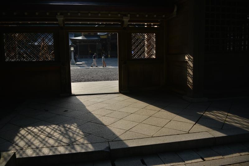弥彦神社 夕方-2