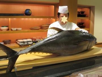 近海のキハダ30kg