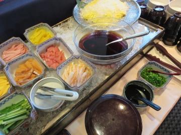 手巻き寿司のコーナー
