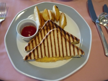 ホットサンドイッチ