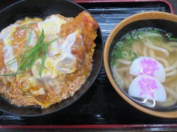 カツとじ丼 ミニうどん付き 790円