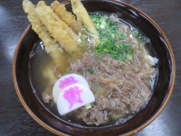 肉&ゴボ天 640円