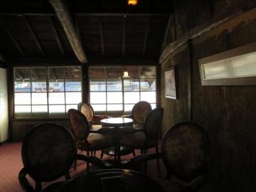二階を見せてもらいました。カフェスペースです