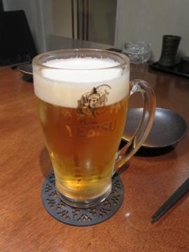 生ビール(エビス) 480円