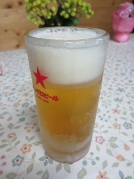 生ビール(サッポロ)