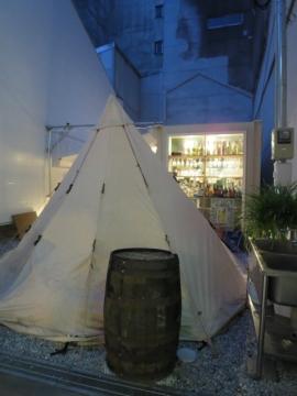 このテントはお店の6人個室