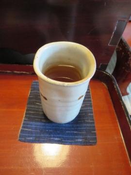 最後のお茶で、今日の余韻を愉しむ