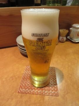 ザ・プレミアム・モルツ(樽生) 550円