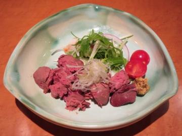 鶏白レバー燻製 1200円