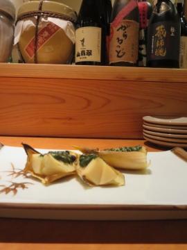 合馬の竹の子木の芽味噌焼き 1000円