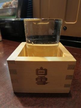 清酒(白雪) 300円