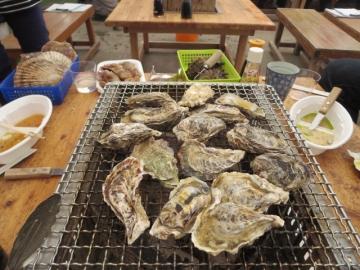 牡蠣一盛 1000円