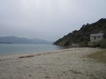 牡蠣小屋裏の景色 (2)