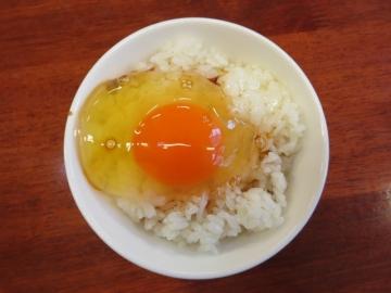 卵かけご飯 一杯230円