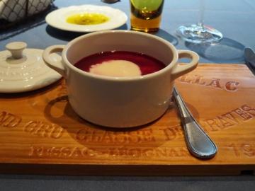 カブとビーツのスープ