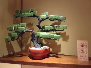 ラングドシャの盆栽