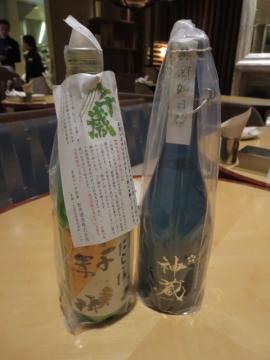 メンバー様、お持ち込みの絶品日本酒!