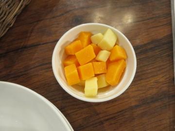 アミューズのチーズ