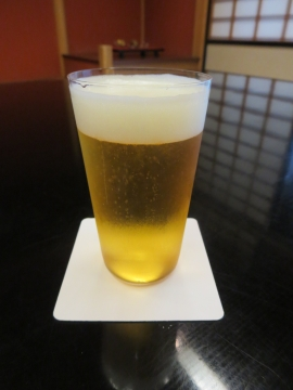 生ビール(小) 600円