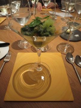 ウスイエンドウ豆と貝