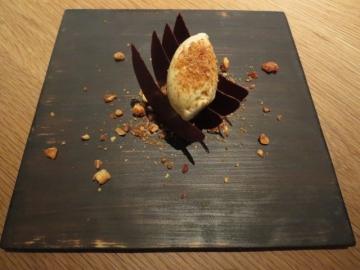 チョコレートのミルフィーユ
