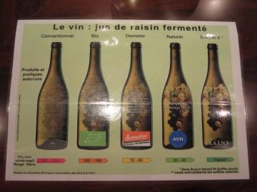 ビオワインと言えどこれだけ分けられます