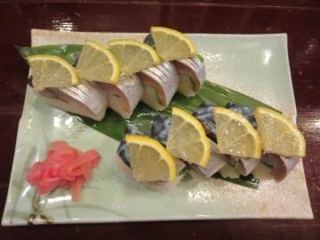 鯖の棒寿司 1本 1200円
