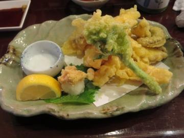 淡路タコ(天ぷら) 700円