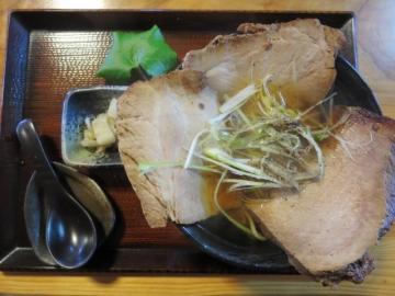 チャシュー蕎麦 950円