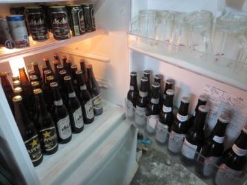 ビールは冷蔵庫から自分で