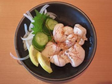 鯛の子の一味唐辛子焼き 360円