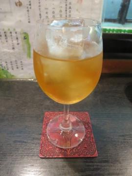 梅酒ロック 400円