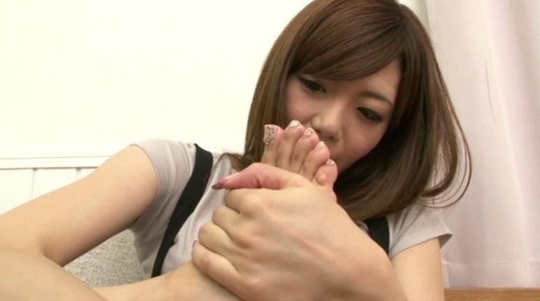美少女の足裏 18の脚フェチDVD画像6