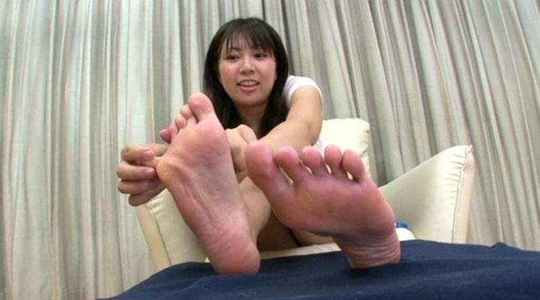 美少女の足裏 18の脚フェチDVD画像5